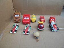 Mattel Disney Pixar  Cars Micro Drifters  Mini Drifters Lot  of 10 GOOD CONDITI