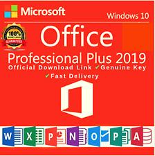 Office Professional Plus 2019  Microsoft Full Version Digital License Key