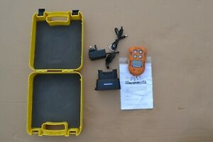 Crowcon T4 Portable Personal Multigas Detector with new O 2 sensor & calibration