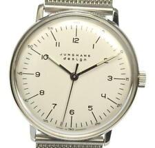JUNGHANS Maxbill Silver Dial Hand Winding Men's Watch_545768