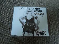 Christina Aguilera Not Myself Tonight RARE CD Single