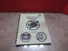 87 Maho MH600E CNC Vertical Mühle Anweisungen und Arbeitsblätter Handbuch CNC 432