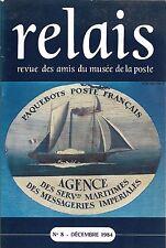 RELAIS n° 8 + Amis du Musée de la Poste + AVIATION POSTALE + TIMBRES TELEPHONE