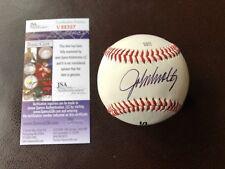 John Smoltz Autographed Baseball - JSA Certified