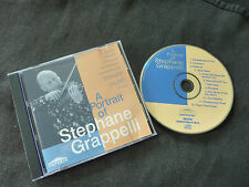 A PORTRAIT OF STEPHANE GRAPPELLI ULTRA RARE AUSSIE CD!