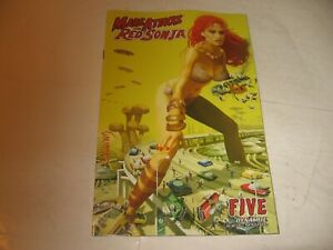"""MARS ATTACKS / RED SONJA"" #5 '20 MINT -ATTACK of the 50 FT WOMAN TAKE-OFF COVER"