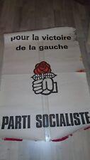 AFFICHE politique socialiste COMMUNISTE ps décoration vintage bar mai 68