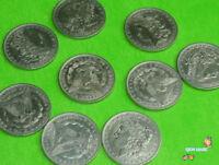 10 pcs/lot Morgan Dollar Coin 3.8cm - Magic Trick,Close up magic,Accessories,Fun