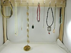 Lot of 10 Costume Necklaces, Chico's & More, Great Variety, Great Value #94X