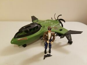 Vintage GI Joe Mudfighter Jet Fighter 1989 Hasbro Complete