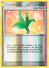 Life Herb Reverse Holo Uncommon Pokemon Card Pt1 Platinum 108/127