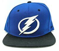 Tampa Bay Lightning NHL Hockey Zephyr SnapBack Hat Flat Bill Cap Blue, NEW!