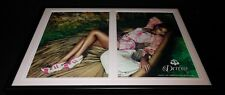 Beyonce House of Dereon 2009 Framed 12x18 Original Advertising Display