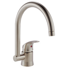 Brizo Riviera Single Handle Bar/Prep Faucet - 6415082-Bn