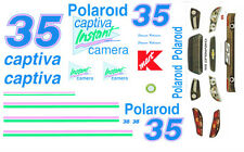 #35 Shawna Robinson 2013 Polaroid Victory Lap 1/32nd ScaleSlot Car Decals