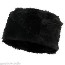 Firetrap Faux Fur Collar Ladies NEW Black Scarf