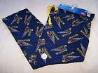 West Coast Eagles AFL Mens Navy Blue Flannel Sleep Pants Size XL New