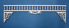 1:12 Scale Dollhouse Miniature Fretwork Trim