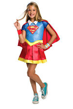 NEW DC Superhero Girl Supergirl Deluxe Costume size 3-5