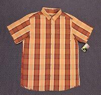 Mountain Hardwear Men's Plaid Sleeve Shirt Size Small NEW MSRP $60