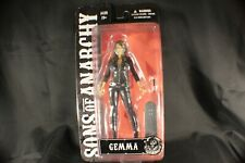 """SONS of ANARCHY GEMMA TELLER ACTION FIGURE VARIANT BLOODY 6"""" TALL NEW MEZCO 2014"""