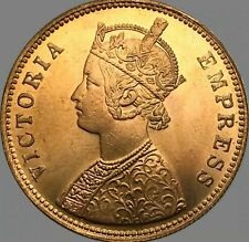 Empress Victoria/Wreath Surrounds 1897 India One Rupee