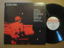 ELTON JOHN Love Songs RARE KOREA LP 1983 - 6302 230 - VINYL IS NEAR MINT