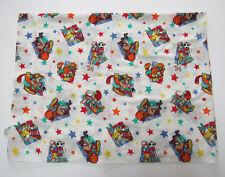 Looney Tunes Crib Toddler Flat Bed Sheet 44x58 Bugs Bunny Taz Space Jam Fabric