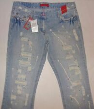 River Island Ripped, Frayed Jeans for Women