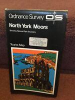 Old Map Ordnance Survey Tourist Map North York Moors