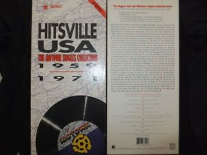 COFFRET 4 CD HITSVILLE USA / THE MOTOWN SINGLES COLLECTION 1959 - 1971 /