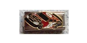 Italian Charm E108 Sports Racing Car Fits Classic Size Bracelet