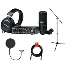 Steinberg UR22C Recording Pack w/ Mic Stad, Pop Filter & Cable