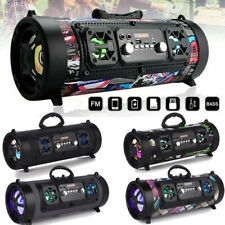 Portable Wireless Bluetooth Speaker Column Subwoofer Deep Bass HD Loud Speaker
