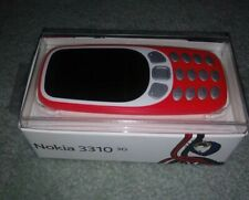New Nokia 3310 3G - Warm Red Cell Phone