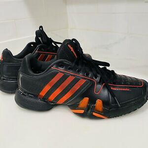 Adidas Adipower Adiwear 6 Barricade Men's 9 Red/Black Tennis Shoes Sneakers