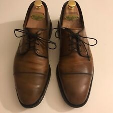 Allen Edmonds Lexington in Bourbon Calf - US 10E