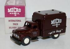 MICRO MODELS 1/43 MM001 INTERNATIONAL TRUCK DELIVERY VAN MICRO MODELS WE'RE BACK