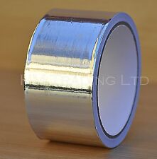 10m Aluminium Foil Silver Tape Exhaust Pipe Repair Heating Electric Insulation