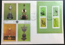 SOUTH AFRICA 1976 SPORTING COMMEMORATIONS MINISHEET ON FIRST DAY COVER