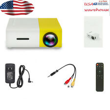 "360° Entertainment home mini miniature 1080 projector 50 lumen 12V 24-60inch 60"""