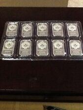 Scottsdale Silver Sheet Of Sealed 1oz .999 Silver Mint 10oz Per Sheet