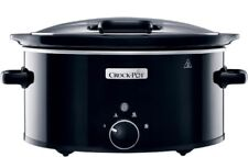 Crock Pot 5.7L Slow Cooker with Hinged Lid FOR 220 VOLT OVERSEAS USE ONLY