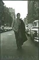 JAMES DEAN ~ WALKING DOWN THE STREET 24x36 POSTER Celebrity Icon Movie