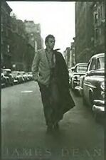 JAMES DEAN ~ WALKING DOWN THE STREET 24x36 POSTER Celebrity Icon Movie