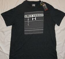 NEW! UNDER ARMOUR Charged Cotton HeatGear T-Shirt Mens 3X 3XL Charcoal NWT!