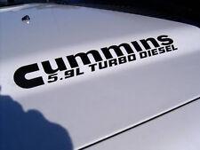 5.9L Cummins Turbo Diesel Hood decals  Dodge Ram 2500 3500 Truck pickup   FITS