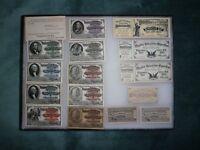 1893 COLUMBIAN EXPOSITION MINT 15 TICKET SET WITH ORIGINAL CAXTON ENVELOPE FANTA