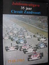 NPU Book Jubileum-uitgave 35 jaar Circuit Zandvoort 1948 - 1983 (Nederlands)