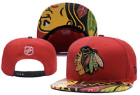 Chicago Blackhawks NHL Hockey Embroidered Hat Snapback Adjustable Cap